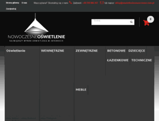 oswietlenienowoczesne.com.pl screenshot