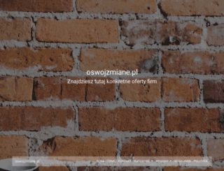 oswojzmiane.pl screenshot