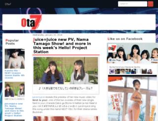 ota7.com screenshot