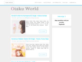 otakuworldsite.blogspot.mx screenshot
