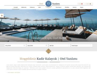 otel.kadirkalaycik.com screenshot