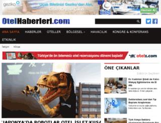 otelhaberleri.com screenshot
