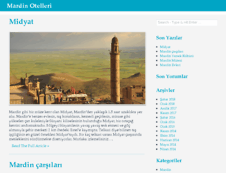otelmardin.com screenshot