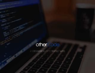 othercode.es screenshot