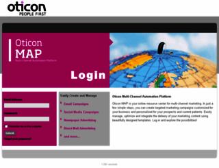 oticon.dmplocal.com screenshot