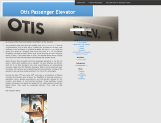 otiselevator.umwblogs.org screenshot