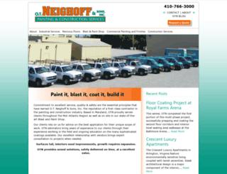 otneighoff.com screenshot