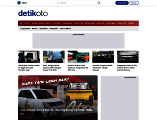 oto.detik.com screenshot