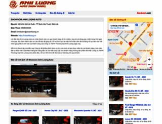 otoanhluong.bonbanh.com screenshot