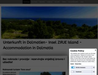 otok-zirje.jimdo.com screenshot