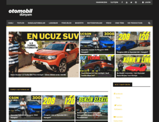 otomobildunyam.com screenshot