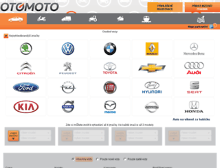 otomoto.cz screenshot