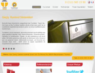otoparkmalzeme.com screenshot
