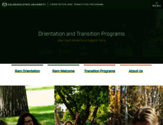 otp.colostate.edu screenshot