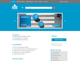 otpbank.sk screenshot