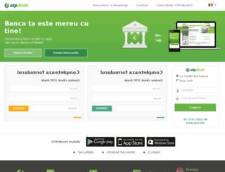 otpdirekt.otpbank.ro screenshot