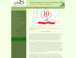 otrfarms.com screenshot