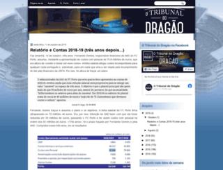 otribunaldodragao.blogspot.pt screenshot