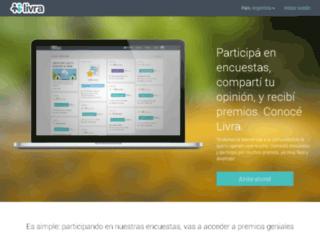 otros.livra.com screenshot