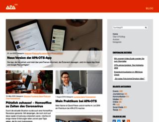 ots-blog.at screenshot