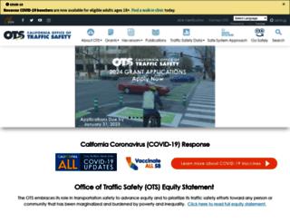 ots.ca.gov screenshot