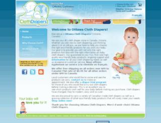 ottawaclothdiapers.com screenshot
