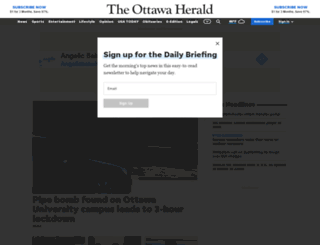 ottawaherald.com screenshot