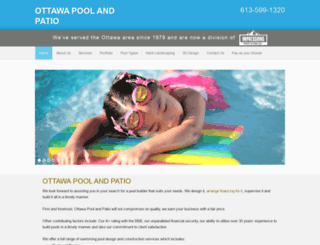 ottawapoolandpatio.ca screenshot