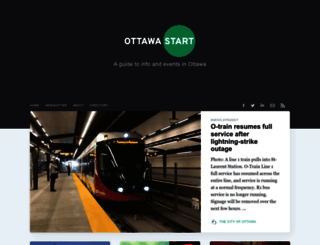 ottawastart.com screenshot