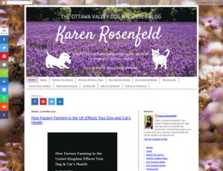 ottawavalleydogwhisperer.blogspot.com screenshot