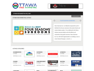 ottawawebmarketing.com screenshot