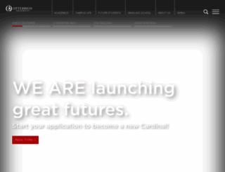 otterbein.edu screenshot