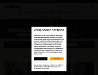 otterbox.co.uk screenshot