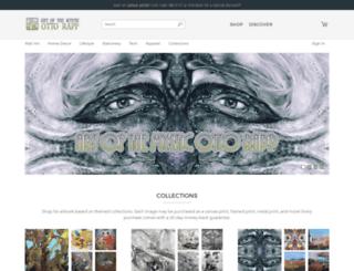 otto-rapp.artistwebsites.com screenshot