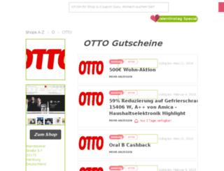 otto.gutscheincodes.de screenshot