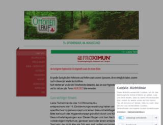 ottonenlauf.info screenshot