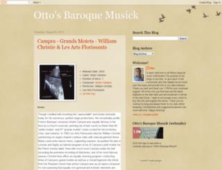 ottosbaroquemusick-bachradio.blogspot.com screenshot