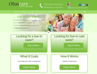 otus.devserve.co.uk screenshot