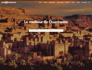 ouarzazate.madeinmedina.com screenshot