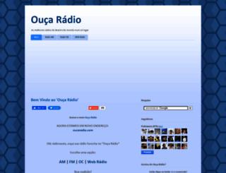 oucaradio.blogspot.com.br screenshot