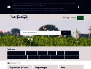 oude-ijsselstreek.nl screenshot