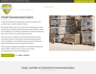 oudebouwmaterialen.com screenshot