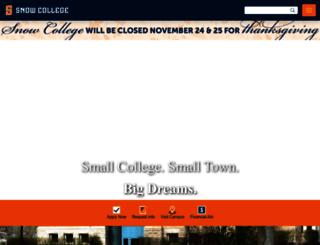 oudev.snow.edu screenshot