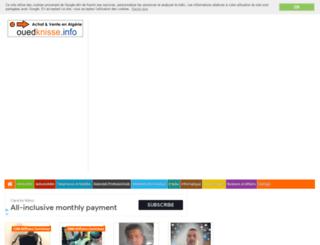ouedknisse.info screenshot