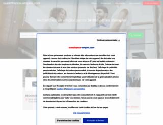 ouestfrance-emploi.com screenshot