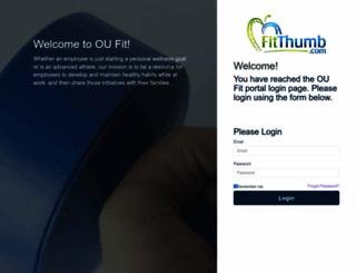 oufit.fitthumb.com screenshot