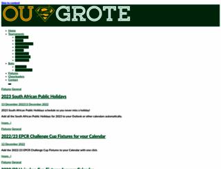 ougrote.com screenshot