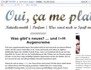 ouicameplait.blogspot.com screenshot
