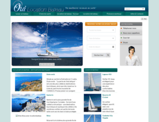 ouilocationbateau.com screenshot