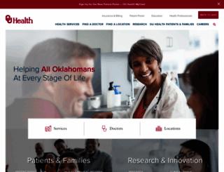 oumedicine.com screenshot